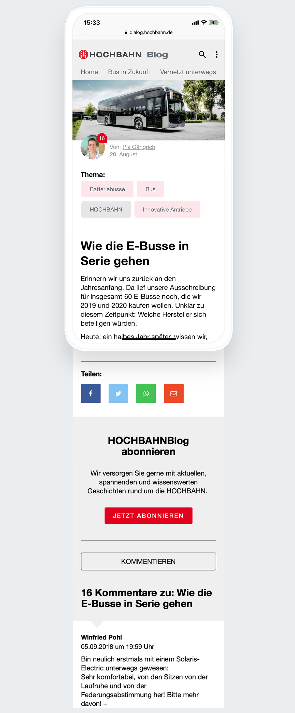 Mobile First und Responsive Webdesign