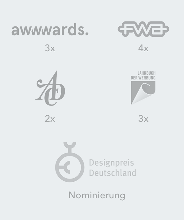 Awards Webdesign Agentur Hamburg